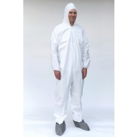 Microporous Film Laminated Coveralls  (H/B)