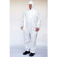 Microporous  Film Laminated Coverall  (Hood Only)