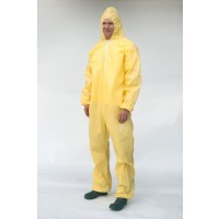 Sunshield PE Chemical Coating Coveralls (Hood/No Boots)