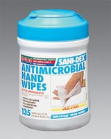 Sani-Hands Antimicrobial Wipes