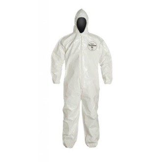 "Dupont ""TYCHEM SL"" Coveralls (Hood/No Boot)"